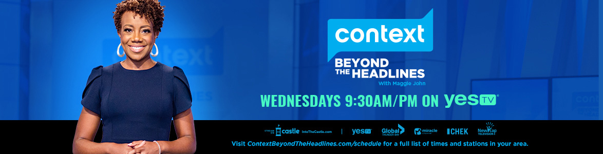 Context is on Wednesdays 9:30am/pm on YES TV